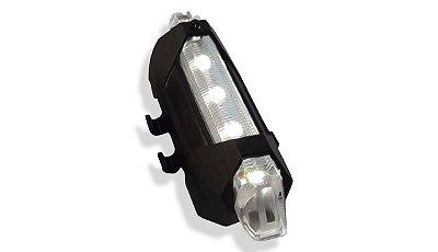 Sinalizador Dianteiro 50 Lumens Led Recaregavel USB