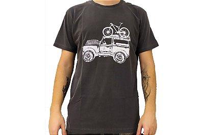 Camisa Casual Landmark Bike Jeep Chumbo