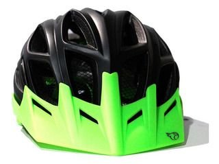Capacete Jet Guardian (G) Preto Fosco/Verde Neon