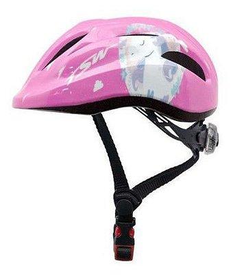 Capacete Infantil TSW Pink 13563