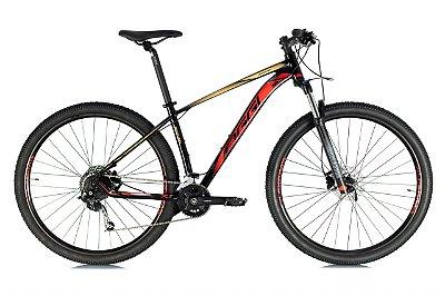 Oggi Big Wheel 7.1 Preto, Vermelho e Dourado