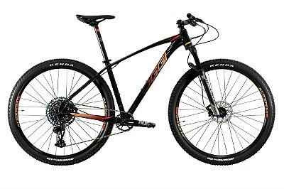 Oggi Big Wheel 7.5  Preto, Vermelho e Dourado