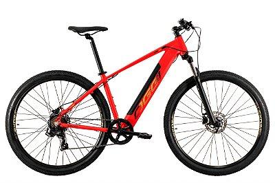 Bike Elétrica Oggi Big Wheel 8.0 Vermelho e Dourado