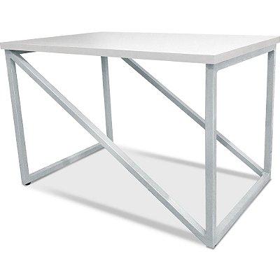Mesa De Centro Viena - Branco/Branco