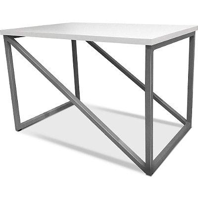 Mesa De Centro Viena - Prata/Branco
