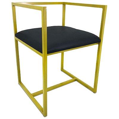 Cadeira Londres - Amarela