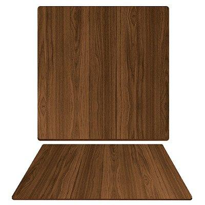 Tampo de Mesa de Jantar em Mdf Quadrado 80cm X 15mm na Cor Villandry