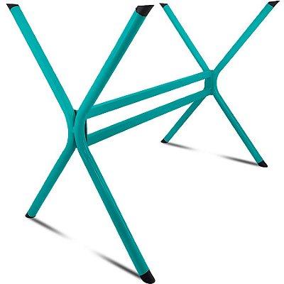 Base de Mesa de Jantar Retangular Escócia 120 x 80 - Verde