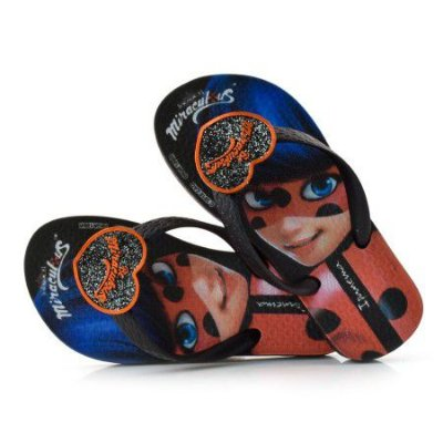 Chinelo Infantil Lady Bug