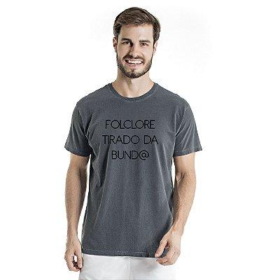 Camiseta Estonada Folclore Chumbo