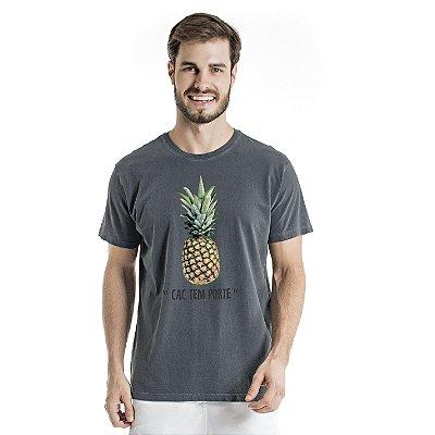 Camiseta Estonada CAC Abacaxi Chumbo