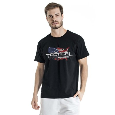 Camiseta Estonada Tactical Weapons Preta