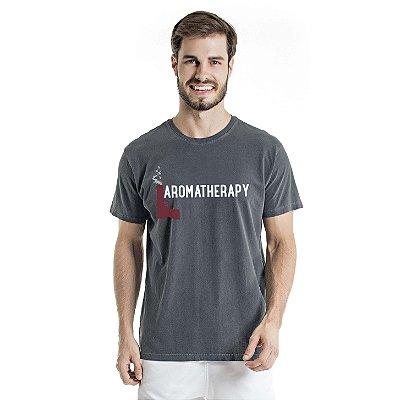 Camiseta Estonada Aromatherapy Chumbo