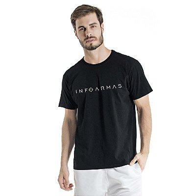 Camiseta Estonada InfoArmas Preta