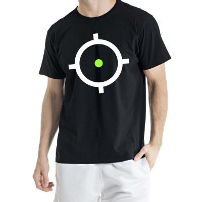 Camiseta Estonada Alvo Preta