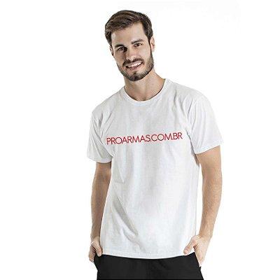 Camiseta Estonada Proarmas Branca