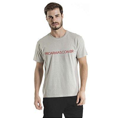 Camiseta Estonada Proarmas Cinza