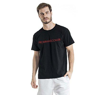 Camiseta Estonada Proarmas Preta