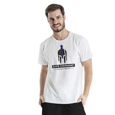 Camiseta Estonada Safe Command Branca
