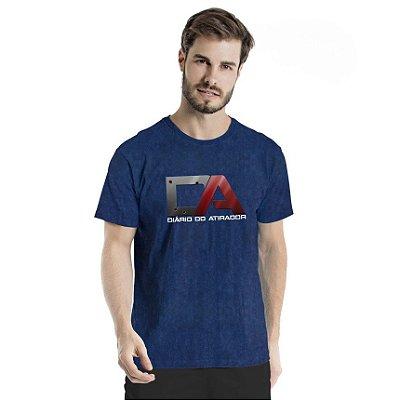 Camiseta Estonada Diário do Atirador Marinho Sky