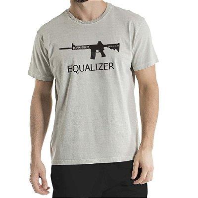 Camisa Estonada Equalizer Cinza