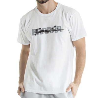 Camiseta Estonada Aeronave Branca