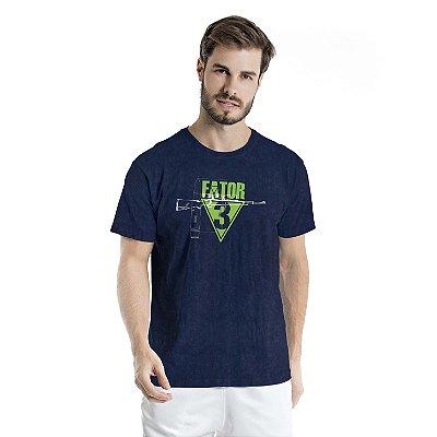 Camiseta Estonada Fator Marinho Sky