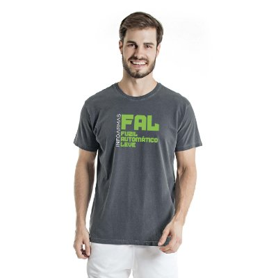 Camiseta Estonada Fal Chumbo