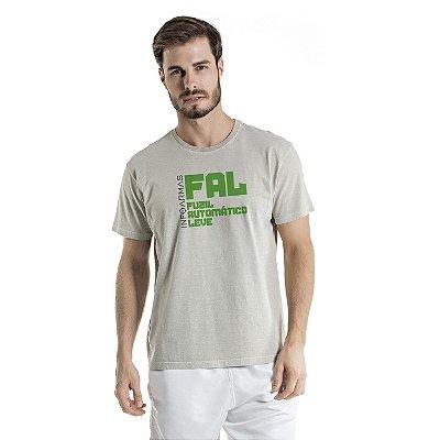 Camiseta Estonada Fal Cinza