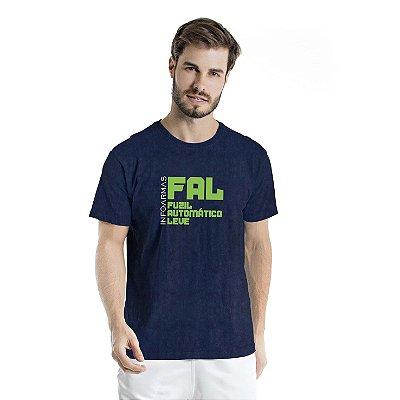 Camiseta Estonada Fal Marinho Sky