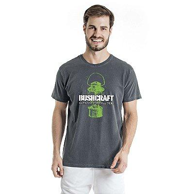 Camiseta Estonada Bushcraft Chumbo