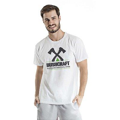 Camiseta Estonada Survival Gear Branca