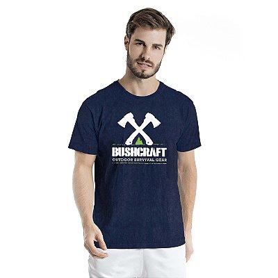 Camiseta Estonada Survival Gear Marinho Sky