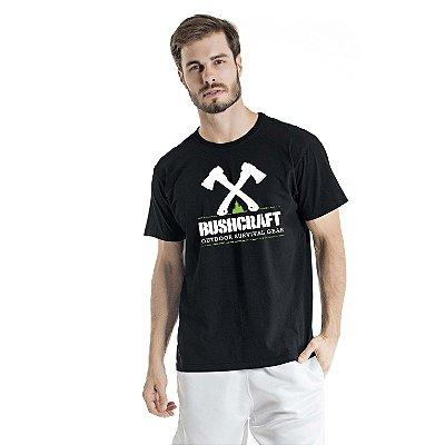 Camiseta Estonada Survival Gear Preta