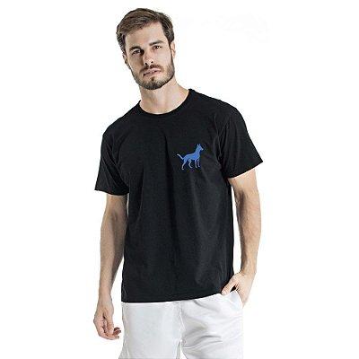 Camiseta Estonada Sheep Dog Preta