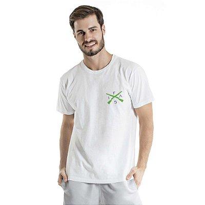 Camiseta Estonada Info Brazil Branca
