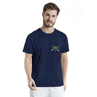 Camiseta Estonada Info Brazil Marinho SKY