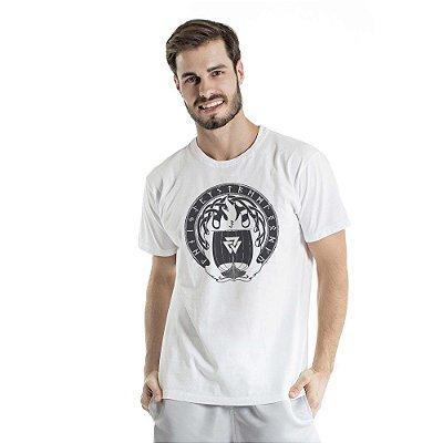 Camiseta Estonada Valhalla Branca