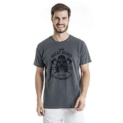 Camiseta Estonada Great Beard Chumbo