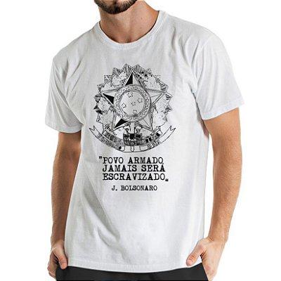 Camisa Estonada  Escudo da Republica Branca