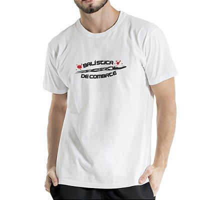 Camiseta Estonada Branca Combate