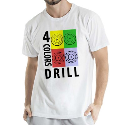 Camisa Estonada 4 colors Drill Humberto Wendling