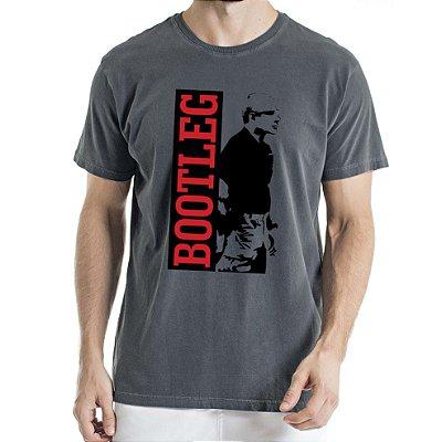 Camisa Estonada BOOTLEG Humberto Wendling Chumbo