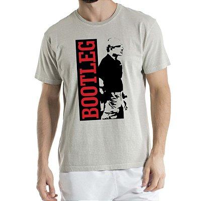 Camisa Estonada BOOTLEG Humberto Wendling Cinza