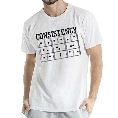 Camisa Estonada Consistency Humberto Wendling Branca
