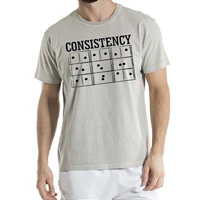 Camisa Estonada Consistency Humberto Wendling Cinza