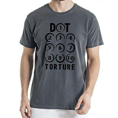 Camisa Estonada Dot Torture Humberto Wendling Chumbo