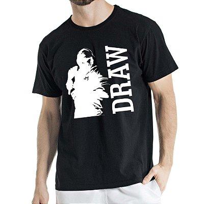 Camisa Estonada DRAW Humberto Wendling Preta