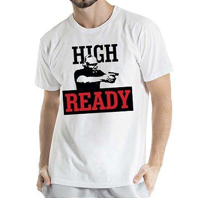 Camisa Estonada High Ready Humberto Wendling branca