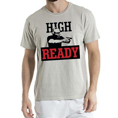 Camisa Estonada High Ready Humberto Wendling Cinza